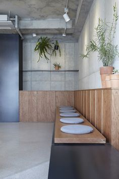 House Helpful Strategies For modern contemporary interior design ideas Commercial Design, Commercial Interiors, Cafe Bar, Cafe Design, Store Design, Bakery Interior, Booth Seating, Brick And Wood, Co Working