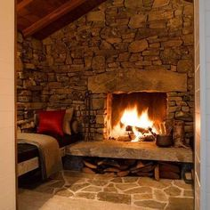 Cabin Fireplace Design, Pictures, Remodel, Decor and Ideas