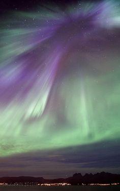 Northern Lights - Bodø, Hunstad, Norway