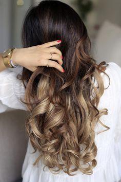 Brighten You violet shampoo also works to keep ombre locks brass free, and eliminates red tones in darker locks. #BLNDN #brunettelove #blondes