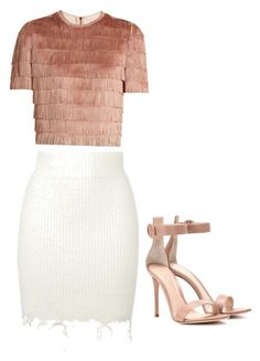 """""""Untitled #38"""" by moixoxoxo on Polyvore featuring Raey, adidas Originals and Gianvito Rossi"""