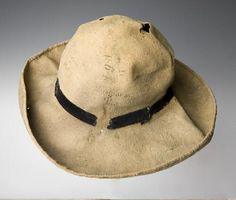 Confederate slouch hat worn by Sgt. William J. McKeage of the 49th Tennessee Infantry. Artifact and image courtesy of the Missouri History Museum, Saint Louis, Missouri.