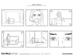 FamousFrames Storyboards, Animatic Artists, Storyboard Artists, Anuj Shrestha