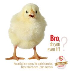 Are there added hormones in chicken? No!
