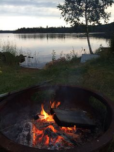 Magical Swedish summer night in Småland.