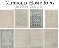 Magnolia Home Rugs Ella Rose Collection