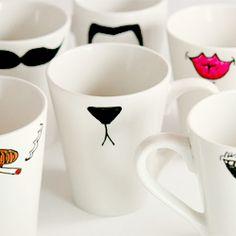 DIY mugs.