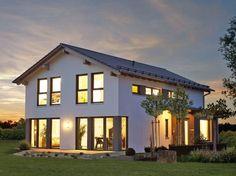 Variant 25-192 • Stadthaus von HANSE HAUS • Hübsches Einfamilienhaus mit Wellness-Bad und Satteldach • Jetzt bei Musterhaus.net informieren!