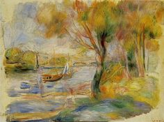 La Seine à Argenteuil (P Renoir) by photopoésie, via Flickr