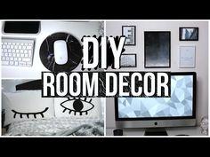 DIY TUMBLR ROOM DECORATIONS 2016!! DIY - YouTube