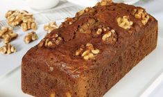banana mug cake Greek Sweets, Greek Desserts, Greek Recipes, Vegan Desserts, Vegan Food, Sweet Loaf Recipe, Meals Without Meat, Greek Cookies, Lemon Meringue Cheesecake