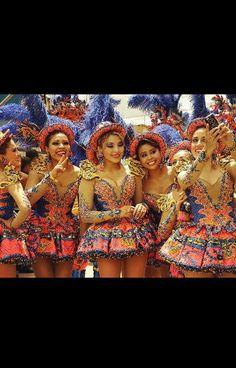Morenada china, carnaval de oruro, Bolivia