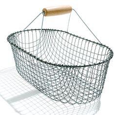 Metal basket - Favorite Garden Tools - Sunset Mobile