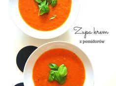 Zupa krem z pomidorów - najlepsza - Blog AgataBerry.pl