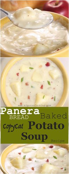 Baked Potato Soup – Panera Bread Copycat Recipe