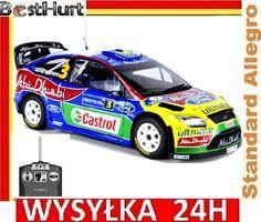 FORD FOCUS WRC 3CH 27MHz ORYGINAł Silnik 280 26cm