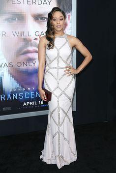 <b>Tia Mowry</b> Wearing Rachel Gilbertau Gown – 'Transcendence ...