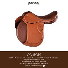 Beautiful COMFORT #saddle #PARIANI