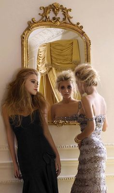 Mary-Kate & Ashley. Badgley Mischka.