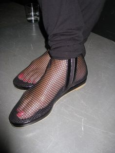 See through shoes