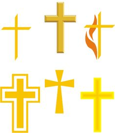Christianity Symbols Illustrated Glossary: Christian Cross