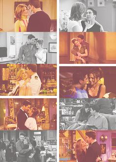 Friends tv show quotes Serie Friends, Friends Cast, Friends Moments, Friends Show, Friends Ross And Rachel, I Love My Friends, Tv Show Couples, Grunge, Back In The 90s
