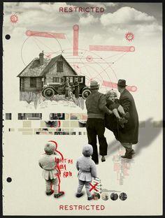 House Of Sand… by Kacper Kiec, via Behance
