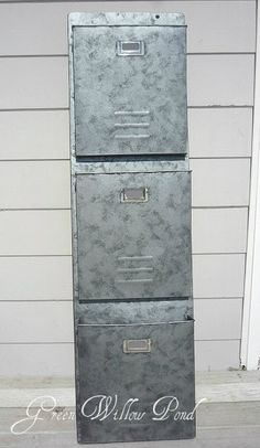 DIY: How to Faux Galvanize Anything - using craft and spray paints. Great info and lots of pics.