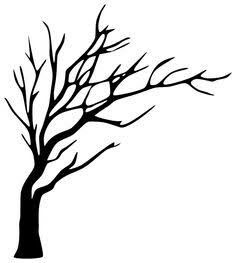 Clipart - tree silhouette 6