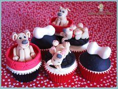 Puppy Dog Cupcakes | Flickr: Intercambio de fotos
