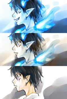 Blue Exorcist ~~ Converting back to human :: Okumura Rin
