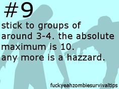 Tips - How to survive a Zombie Apocalypse Photo (31014999) - Fanpop