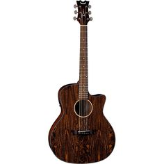 Dean Axs Exotic Gloss Cadie Cutaway Acoustic-Electric Guitar Natural