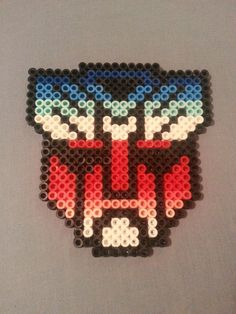 Transformers Perler Bead Emblem Magnets or by AshMoonDesigns