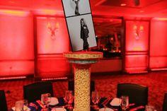 Popcorn Centerpieces for an Amusement Park Theme Bat Mitzvah Party {Westminster Hotel NJ, Ivan Piedra Photography} - mazelmoments.com