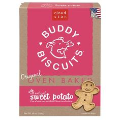 Cloud Star Buddy Biscuits Dog Treats Sweet Potato Madness 16-Ounce Boxes (Pack of 6)  Simple, clean, and wholesome ingredients and great for all dogs, even those with allergies or sensitivities   #dogs #treats #Jerky   See Latest Reviews @ http://dogagram.com/cloud-star-buddy-biscuits-dog-treats-sweet-potato-madness-16-ounce-boxes-pack-6