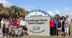 Jim McNKnight honored with Space Coast Sports Hall of Fame Lifetime Achievement Award. From spacecoastdaily.com