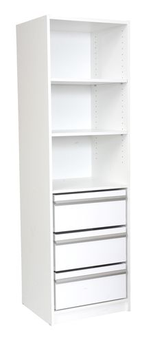 Wardrobe Drawr Unit Multistore 1650mm 3jumbo Drawer Msm16j3