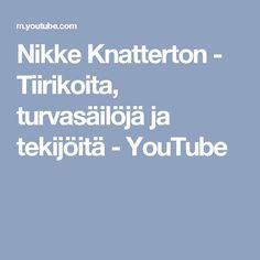 Nikke Knatterton - Tiirikoita, turvasäilöjä ja tekijöitä - YouTube