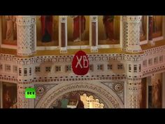 Patriarch Kirill leads Orthodox Easter service at Christ the Saviour Cat...
