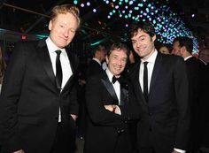 Conan O'Brien, Martin Short and Bill Hader | 35 Photos Of Celebrities Partying Down At The Oscars After-Parties