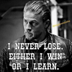 Image result for jax teller i never lose