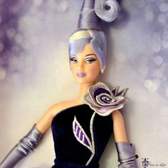 Bob Mackie Barbie Collection | ... BARBIE > BARBIE STERLING SILVER ROSE By BOB MACKIE DESIGNER COLLECTOR