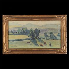 Albert Joseph (1868-1952) - Paysage Limousin - Ecole de Crozant