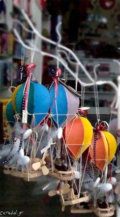 Carousel.gr (τα παιχνίδια των ονείρων μας): Μπομπονιέρες αερόστατα
