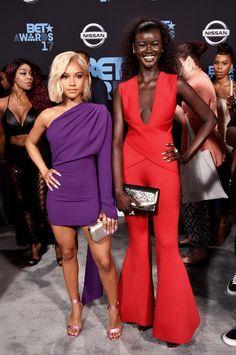 Karrueche Tran and Khoudia Diop Are Beauties!