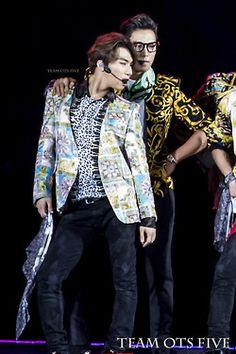 Daesung and T.O.P - BigBang