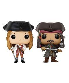 Pirates of the Caribbean Action Figures Jack Sparrow Modèle Cadeau Fantaisie Collect