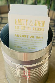 good idea for holding wedding programs