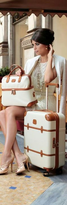 Ha! This is anything BUT me while traveling; nevertheless, love the luggage.